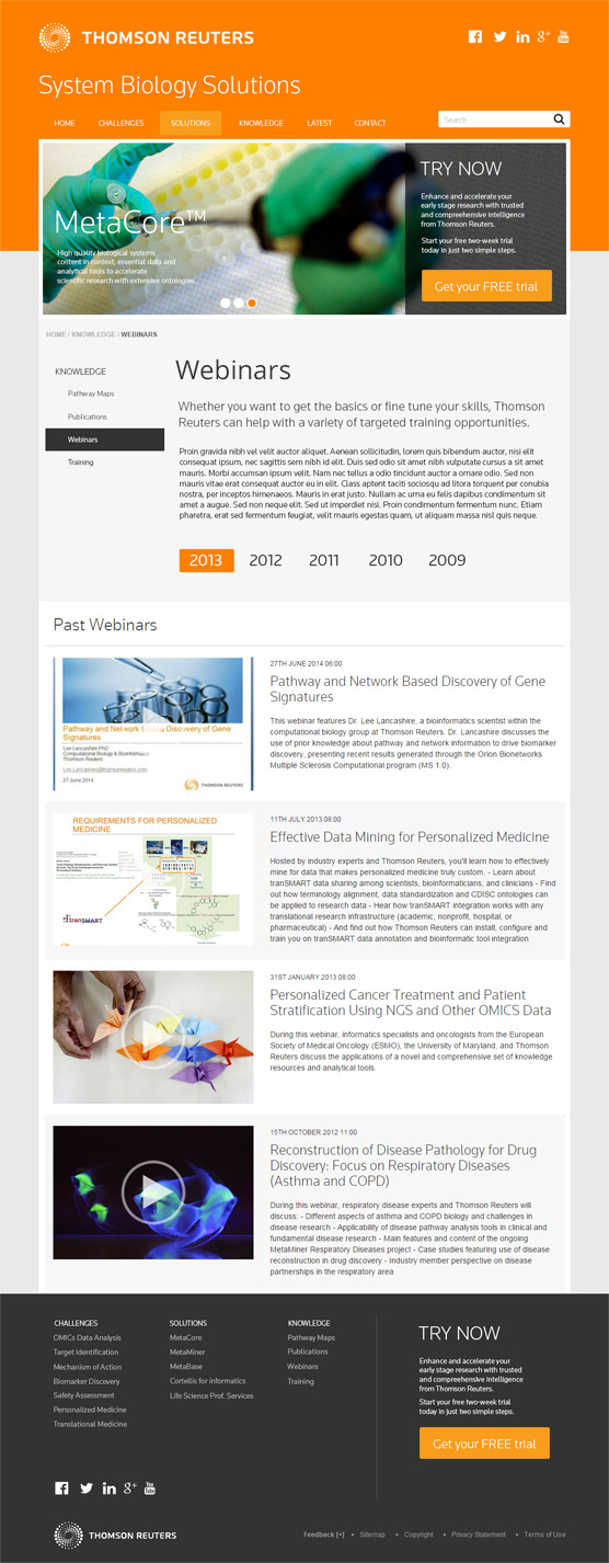 thomson case tudy Thomson reuters case study building a winning fund strategy with an end-to-end workflow the founder of a new hedge fund was looking to build a more robust workflow that would make it easier to do.